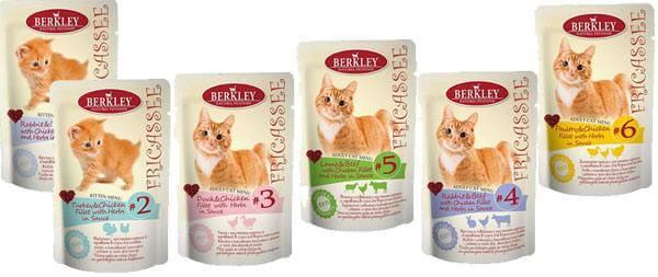 Berkley корм для котов