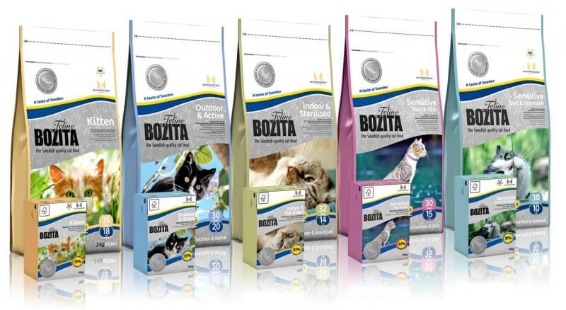 Bozita корм для котов
