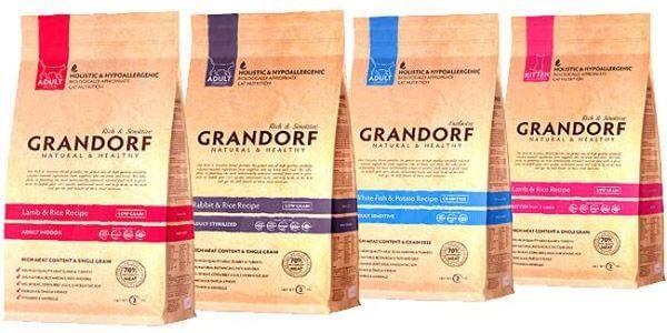 Grandorf корм для котів