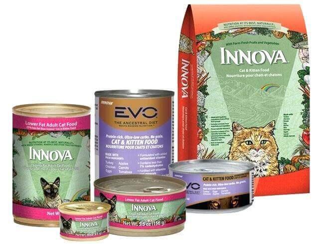 Innova корми для котів