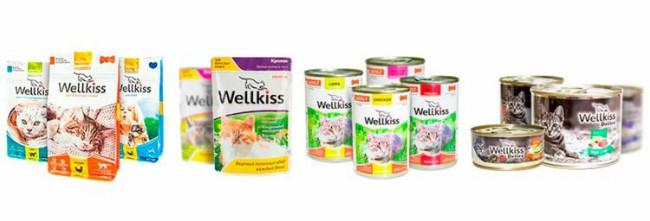 Wellkiss корм для кошек