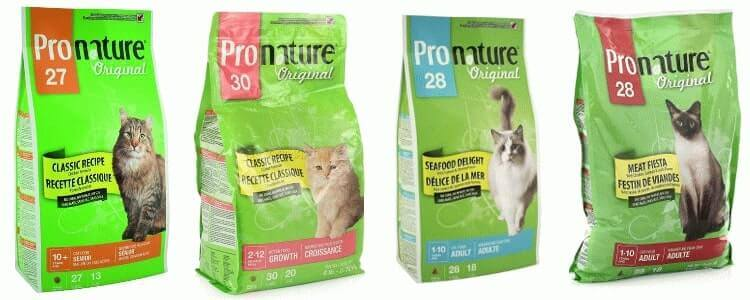 Pronature Original корм для кошек