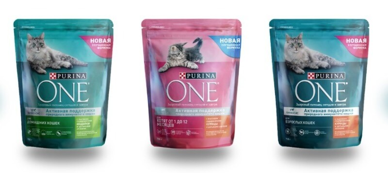 Purina One корм