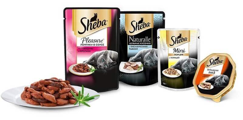 Sheba корм