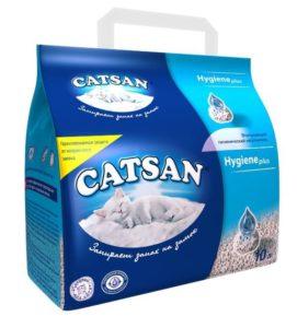 Наповнювач туалетів для кішок Catsan Hygiene plus