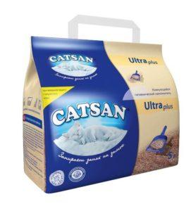 Наполнитель туалетов для кошек Catsan Ultra plus