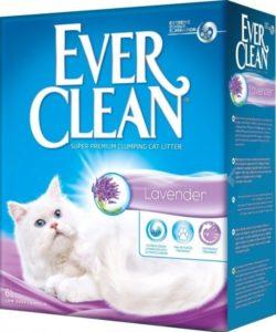 Ever Clean Lavender комкующийся с ароматом лаванды