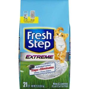 Fresh Step Extreme впитывающий с тройным контролем запахов