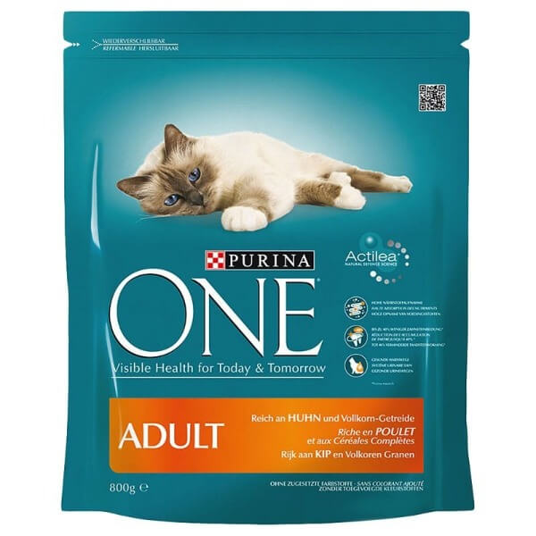 purina one для взрослых кошек