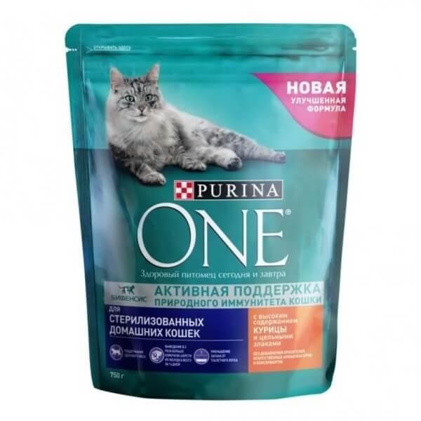 Purina one корм для стерилизованных кошек