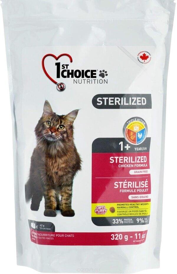 1st choice для стерилизованных кошек
