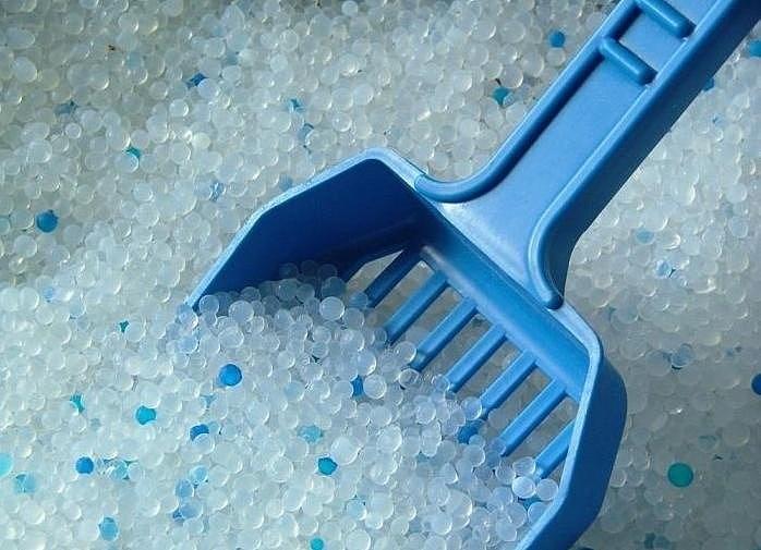 лопатка для силикагелевого наполнителя